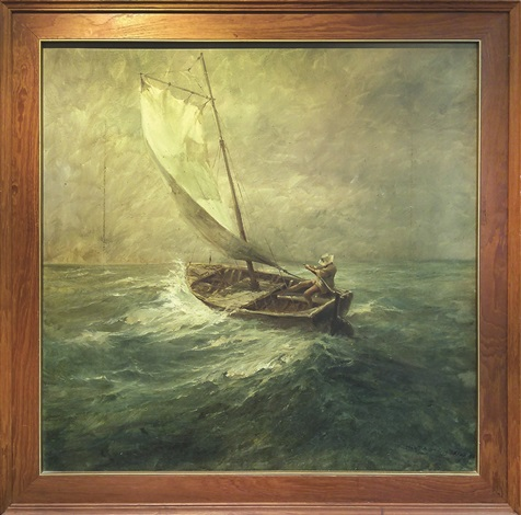 montague-dawson-enduring-the-gale